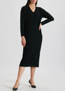 Шерстяное платье Max Mara Leisure с длинны рукавом, фото