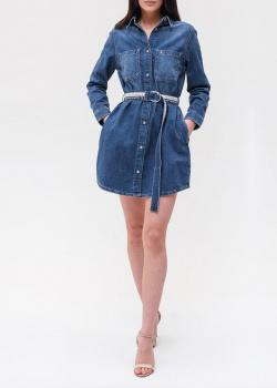 Джинсовое платье Calvin Klein Jeans с поясом, фото
