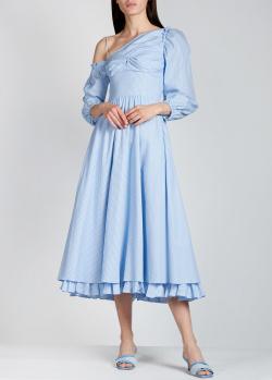 Голубое платье Alexa Chung с пышной юбкой, фото