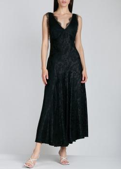 Длинное платье Alexa Chung с открытой спиной, фото