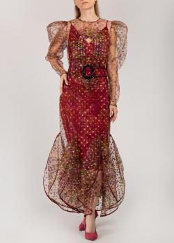 Полупрозрачное платье Nadya Dzyak с шелковой подкладкой, фото