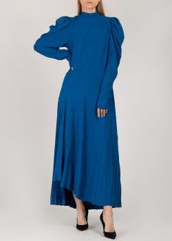 Длинное платье Nadya Dzyak с плиссированной юбкой, фото