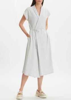 Платье-трансформер Max Mara Leisure Eden светло-серого цвета, фото