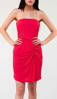 Платье-футляр Elisabetta Franchi красного цвета, фото