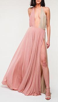 Вечернее платье Elisabetta Franchi с открытой спиной, фото