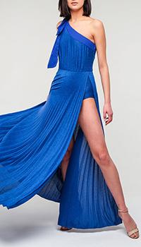 Платье в пол Elisabetta Franchi с разрезом, фото