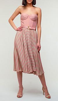 Платье Elisabetta Franchi розового цвета, фото