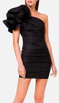 Платье Elisabetta Franchi с бантом на плече, фото