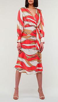 Платье Elisabetta Franchi из шелка, фото