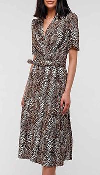 Платье Elisabetta Franchi с животным принтом, фото