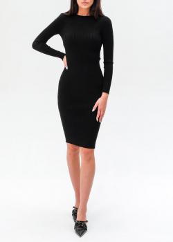 Трикотажное платье Elisabetta Franchi с открытой спиной, фото