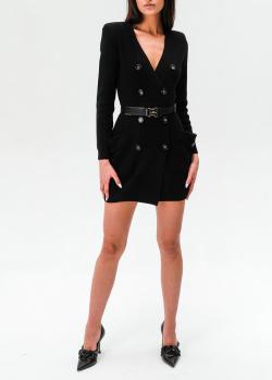 Трикотажное платье Elisabetta Franchi с ремнем, фото