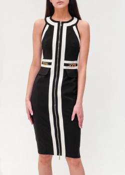 Платье-футляр Elisabetta Franchi с белыми полосками, фото