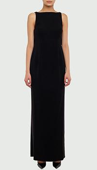 Длинное платье Emporio Armani с открытой спиной, фото