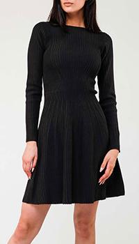Трикотажное платье Emporio Armani с полосками, фото