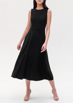 Платье-миди Emporio Armani черного цвета, фото