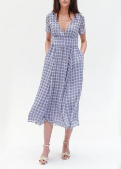 Платье-миди Emporio Armani голубого цвета, фото