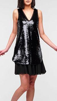 Коктейльное платье Emporio Armani с пайетками, фото