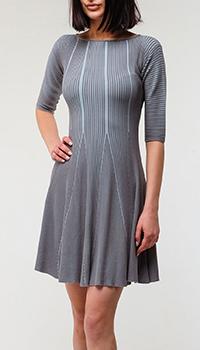 Платье Emporio Armani серого цвета, фото