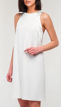 Платье Emporio Armani белого цвета, фото