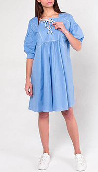 Свободное платье Ermanno Scervino с завязками, фото