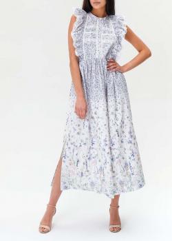 Платье миди Ermanno Ermanno Scervino с рюшами, фото