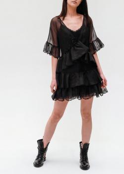 Черное платье Ermanno Ermanno Scervino выше колена, фото