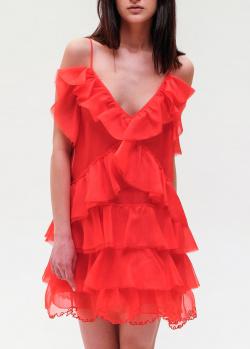 Красное платье Ermanno Ermanno Scervino на бретелях, фото