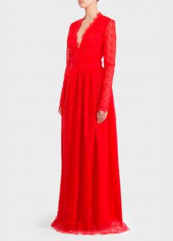 Кружевное платье Ermanno Scervino с разрезом, фото