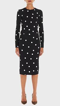 Платье-футляр Dolce&Gabbana черного цвета, фото