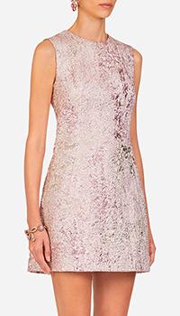 Платье Dolce&Gabbana розовое с блестками, фото