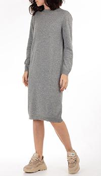 Кашемировое платье GD Cashmere в сером цвете, фото