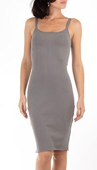 Платье-фуляр GD Cashmere до колен, фото