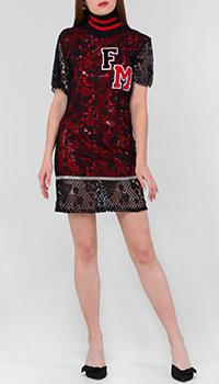 Платье Frankie Morello с кружевом, фото