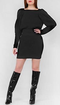 Платье-футляр Frankie Morello с объемным рукавом, фото