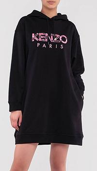 Платье-толстовка Kenzo с капюшоном, фото