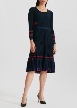 Трикотажное платье Kenzo с люрексовой нитью, фото