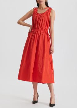 Красное платье Kenzo средней длины, фото