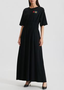 Длинное платье Kenzo с вышивкой на груди, фото