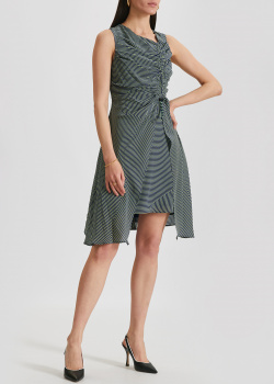 Шелковое платье Kenzo в полоску, фото
