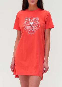 Платье-футболка Kenzo с принтом-тигром, фото