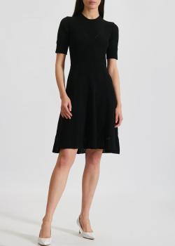 Трикотажное платье Kenzo черного цвета, фото