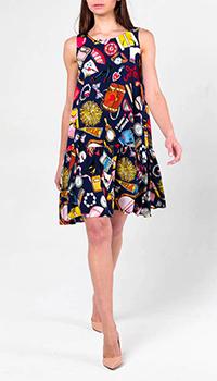 Свободное платье Love Moschino с принтом, фото