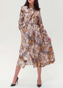 Платье-рубашка Max Mara Weekend с абстрактным принтом, фото