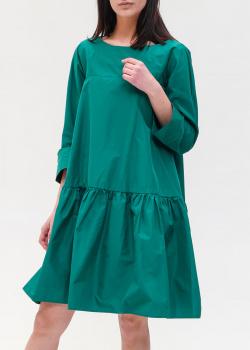 Зеленое платье Max Mara Weekend свободного кроя, фото