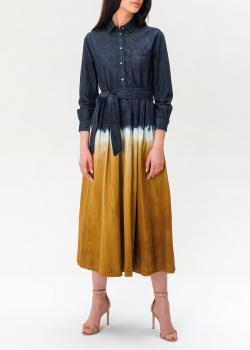 Джинсовое платье Max Mara Weekend с градиентным переходом, фото