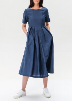 Льняное платье Max Mara Weekend со складками, фото
