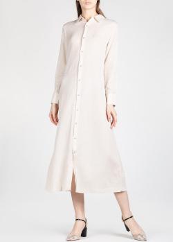 Платье-рубашка Mara Hoffman средней длины, фото