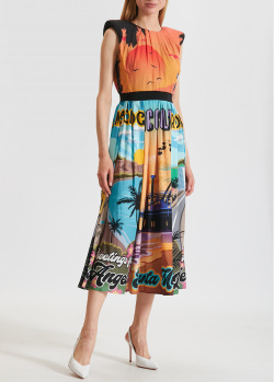 Платье миди Marco Bologna с рисунком, фото