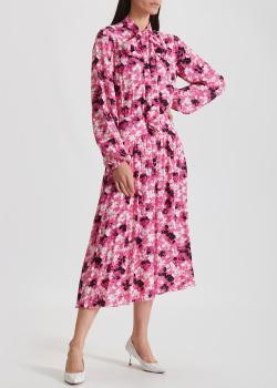 Платье-миди N21 с цветочным принтом, фото